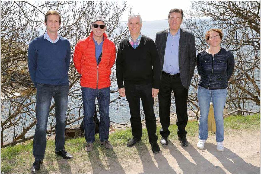 Ehnk Jan Nix, Walter Frauenknecht, Marc van den Brand, Michael Abraham, Dorothee Decrop
